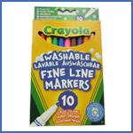 Crayola 10 Washable Markers