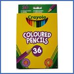 Crayola 36 Coloured Pencils