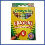 Crayola 8 Crayons