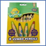 Crayola 8 Jumbo Pencils