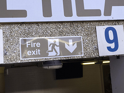 Fire Exit - Protanopia