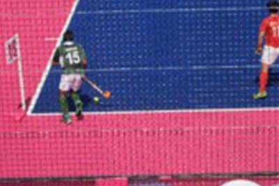 Hockey pitch - Normal Vision