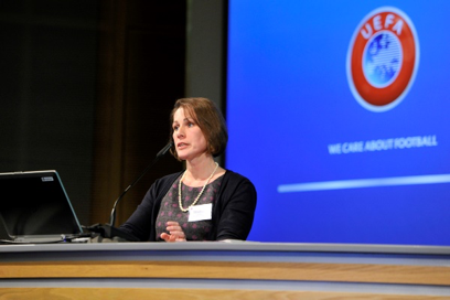 UEFA speaker